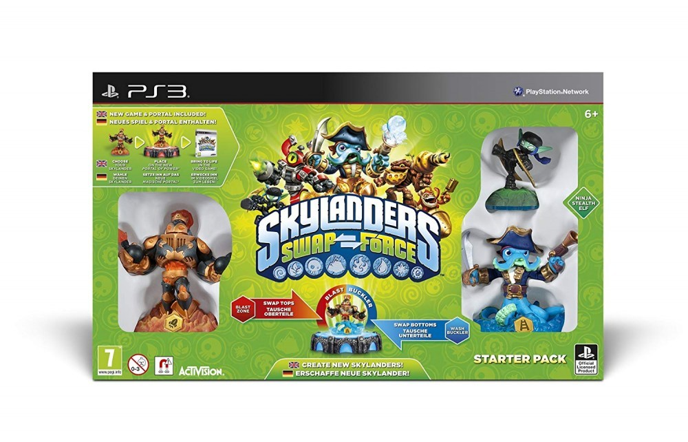 Skylanders Swap Force Starter Pack - 60277